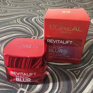 80% FULL LOREAL Revitalift Magic Blur (anti-aging)