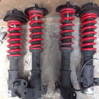 API Racing Coilovers- WRX & Forester