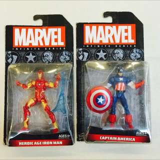 Marvel Infinite Series Heroic Age Iron Man Captain America
