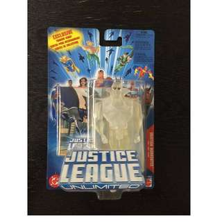 DC Justice League Unlimited JLU Martian Manhunter MOSC