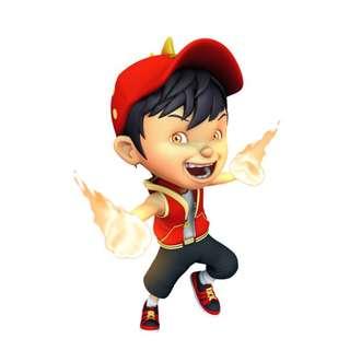 Cap Boboiboy Api