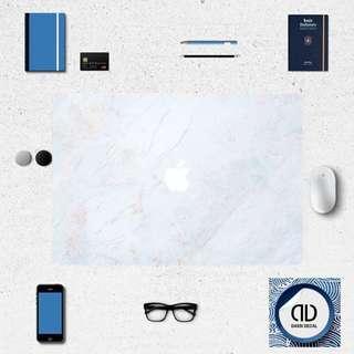 Sky Blue Marble Macbook Decal Skin Sticker INSTOCK