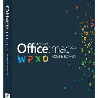 Price Reduced for fast Deal   Microsoft Office H&B for Mac 2011