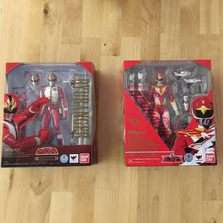 S.H.Figuarts Ryu Ranger and Red Hawk