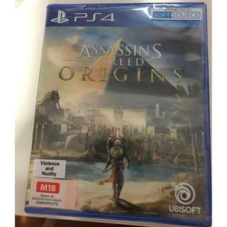 (Brand new and Sealed) Assassin's Creed Origins for PS4