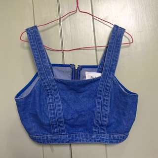 91:LTD Denim Crop