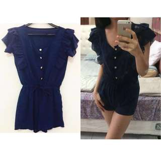 Navy Jumpsuit / Playsuit
