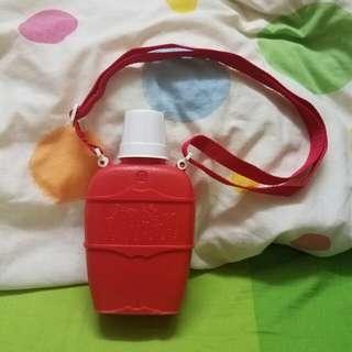 香港製造 經典 紅A牌 絕版紅色膠水壺 Made in Hong Kong