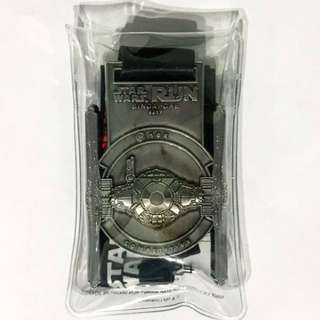 Star Wars 10km run Competitive Medal