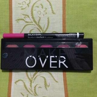 Make Over Lip Palette