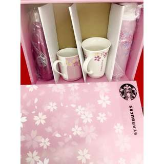 Starbucks Sakura Set