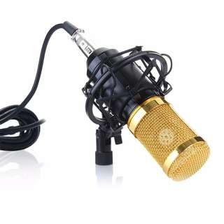 Professional Smule PC Audio Vocal Karaoke Voice Condenser Microphone