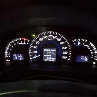 2012 Toyota Aurion ATX 3.5