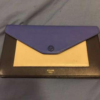 Authentic Celine Long Wallet