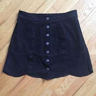 *MARKDOWN* AE Vegan Leather Skirt