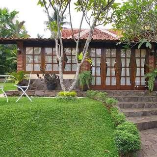 Rumah Gallery / Villa Antik, LT 2057, Swimming Pool, Asri, Nyaman & Tenang