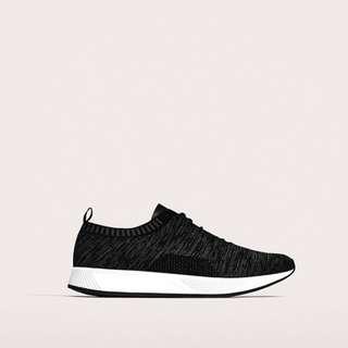 Zara Man Black Lightweight Sneakers