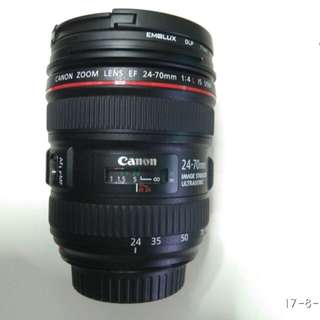 Canon 24-70L IS F/4