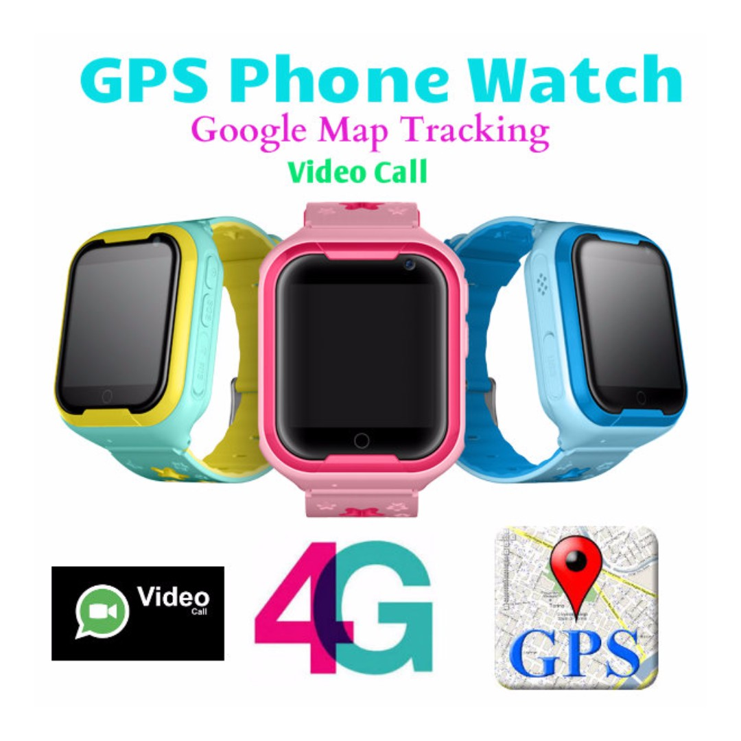 86927bf897bc 4G Video Call GPS Tracking Phone Smartwatch
