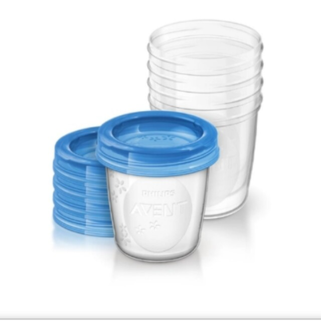 5 pieces Avent Milk Storage (6oz)