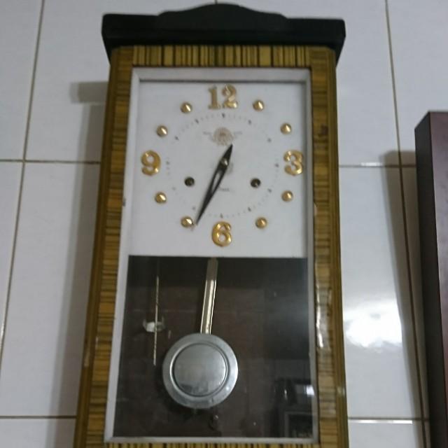 轉發條時鐘