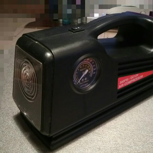超強馬力車用(照明,胎壓,打氣機,警示) 300psi(免運)