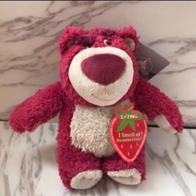 香港迪士尼玩具總動員熊抱哥草莓味 #幫你省運費