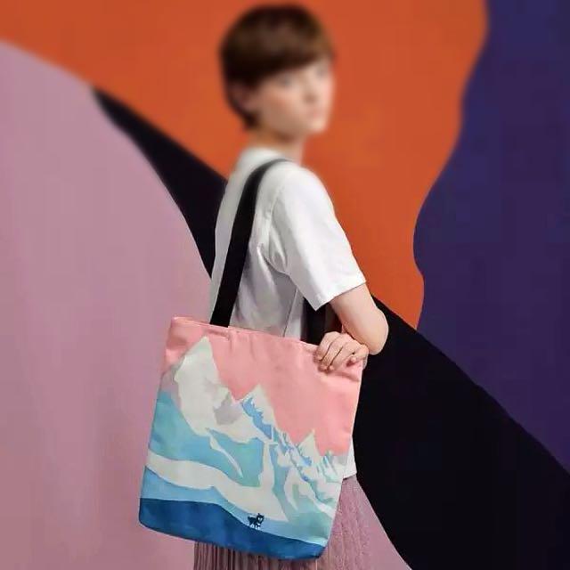 新款 🌲風景系列單肩包帆布包