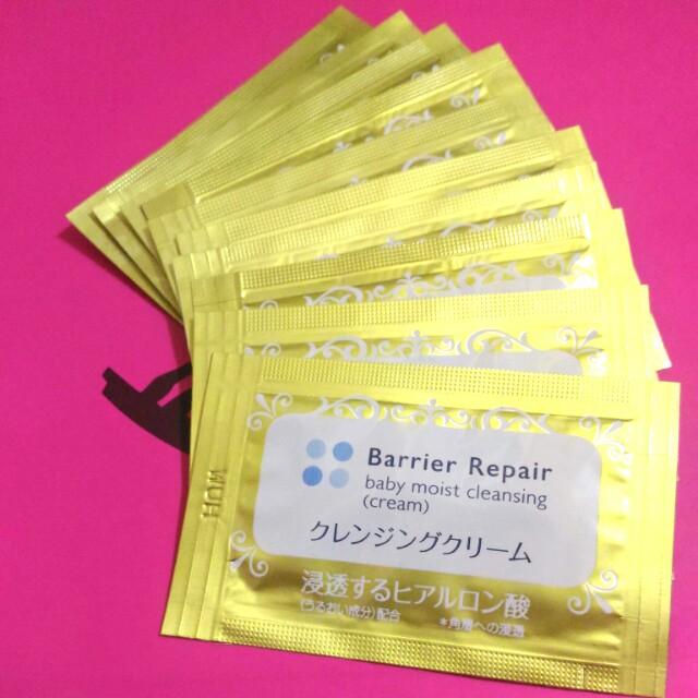 日本 barrier repair baby moist cleansing 嬰兒 保濕 潔淨 #購買商品可索取