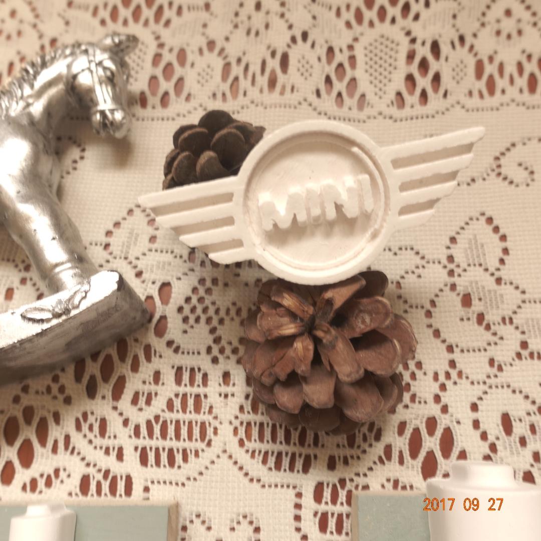 寶琳全手作擴香石 『香氛小日子』機器戰士 Mini Cooper 車用風夾#好物任你換