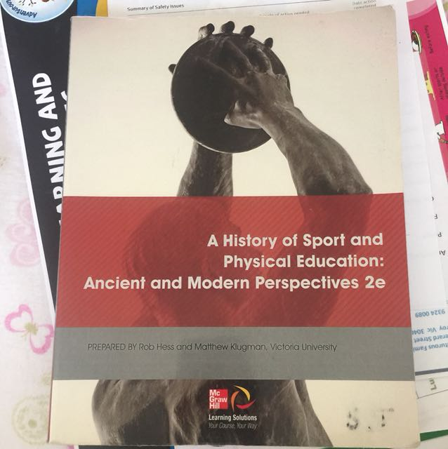 A history of sport and physical education: ancient and modern perspectives 2e