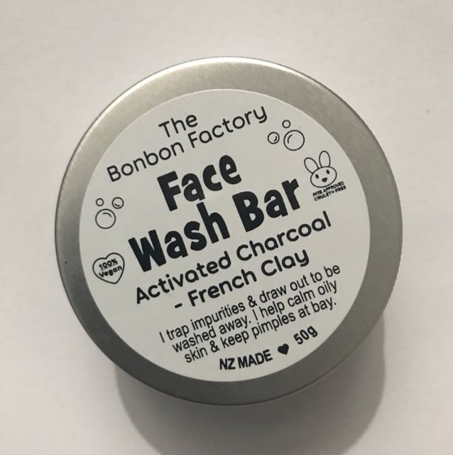 Activated Charcoal Face Wash Bar