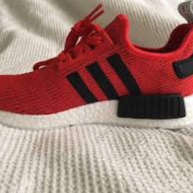 Adidas nmd core red black white glitch camo orig. Legit 💯✔