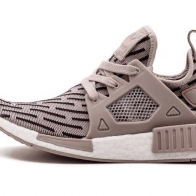 Adidas NMD XR1 Runner Tan Grey BB2376 Women's Size 6,5