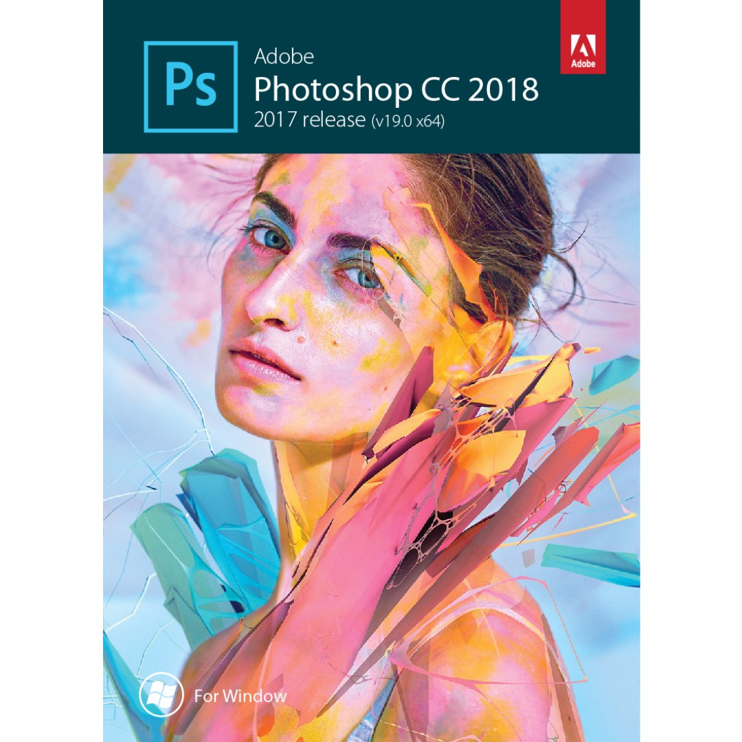 Photoshop CC 2018 (Window)