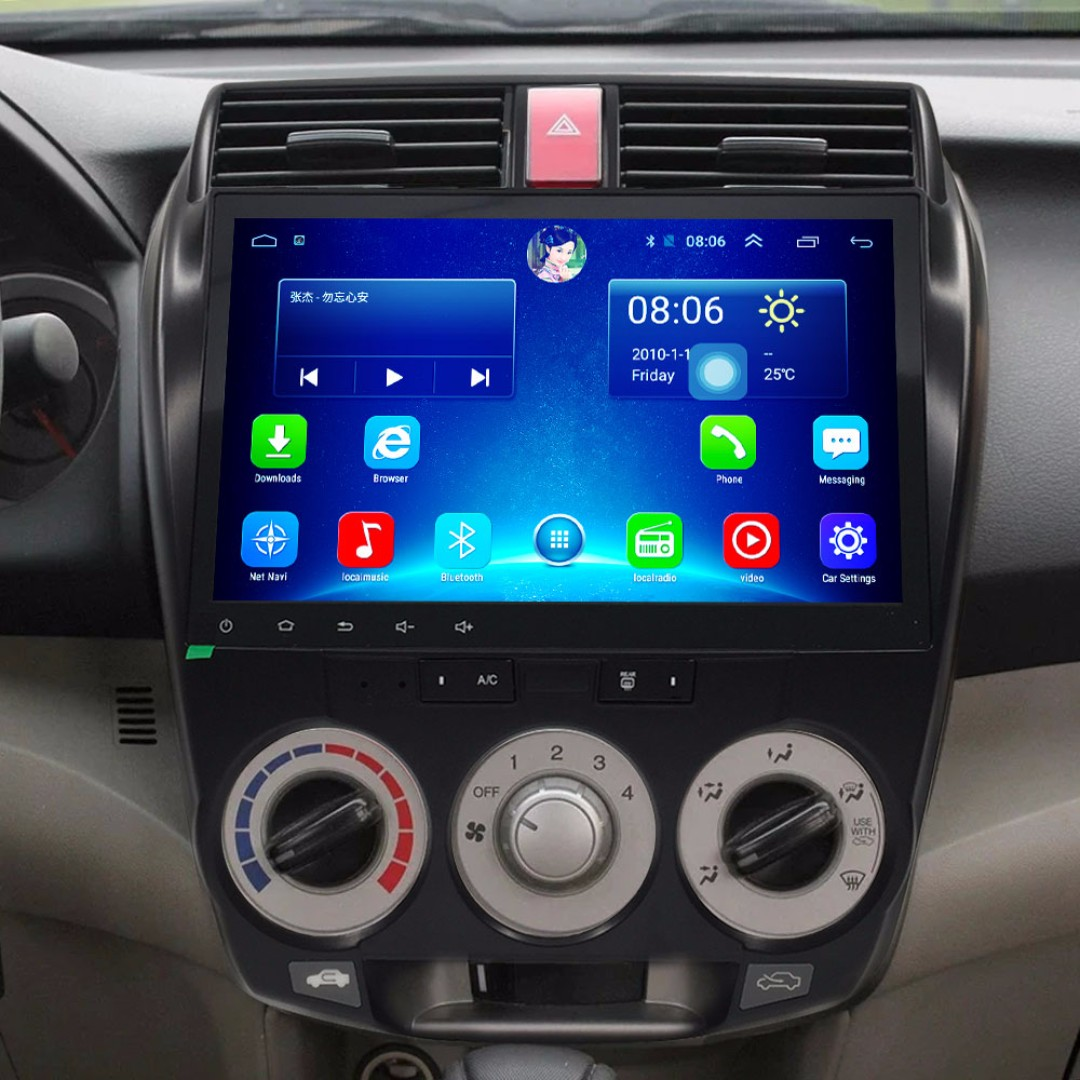 "Android 10.2"", multimedia player for HONDA CITY 2008-2014"