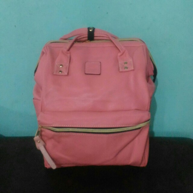 Anello leather backpack large