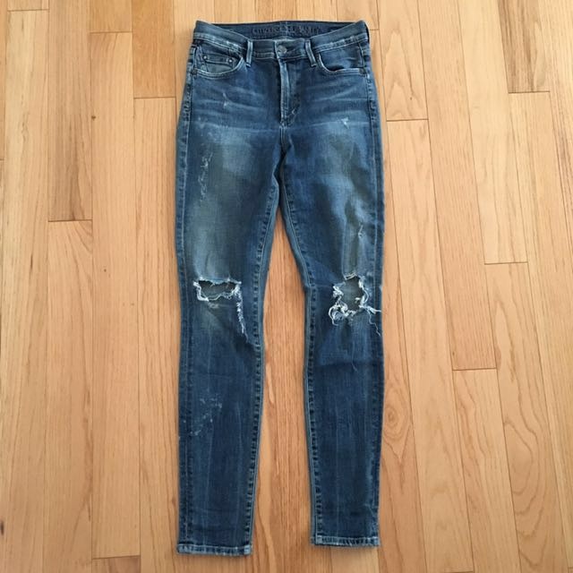 Aritzia Citizens of Humanity COH Rocket High Rise Skinny