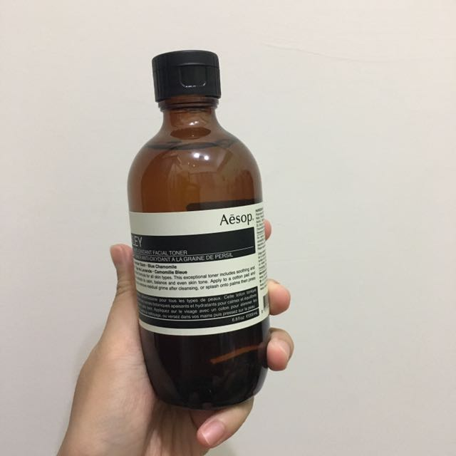 Aēsop香芹籽抗氧化活膚調理液200ml Parsley Seed Anti-Oxidant Facial Toner