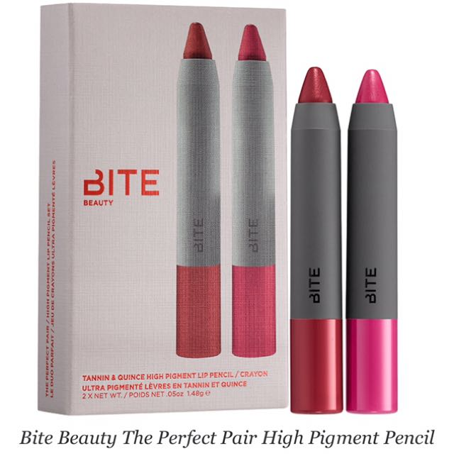 Authentic Bite Beauty High Pigment Lipstick duo