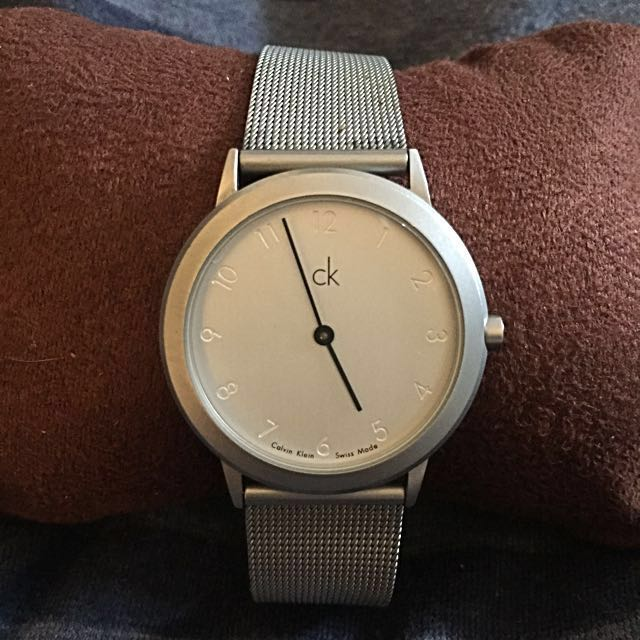 Authentic Calvin Klein Steel Watch
