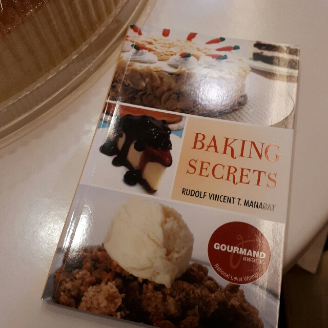Baking Secrets By Chef RV Manabat