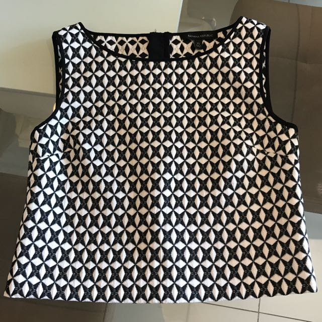 Banana Rep sleeveless blouse