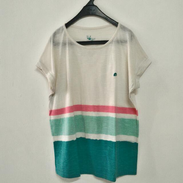 Blouse Surf The Earth Preloved