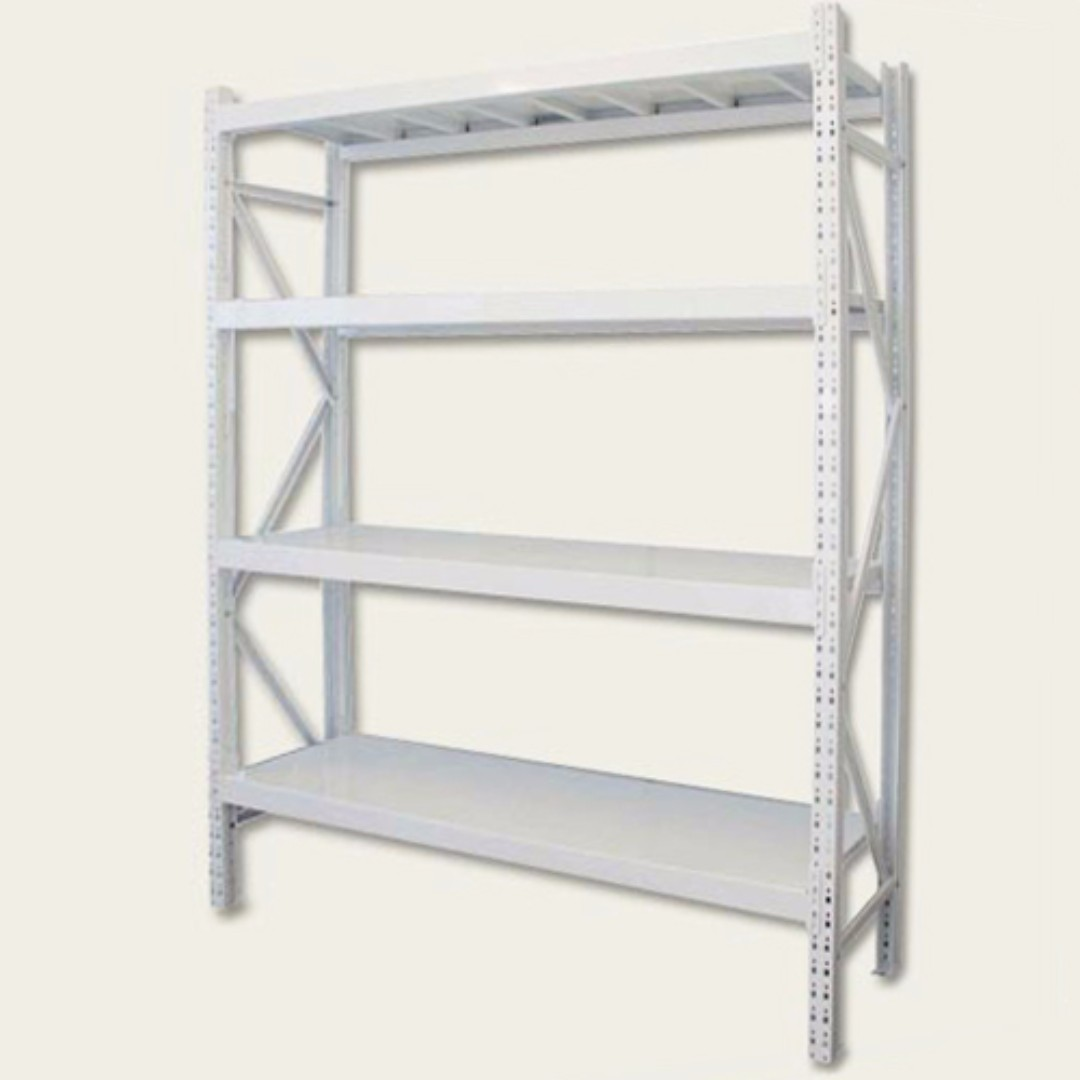BNIB Heavy Duty Long Span Metal Deck Racking