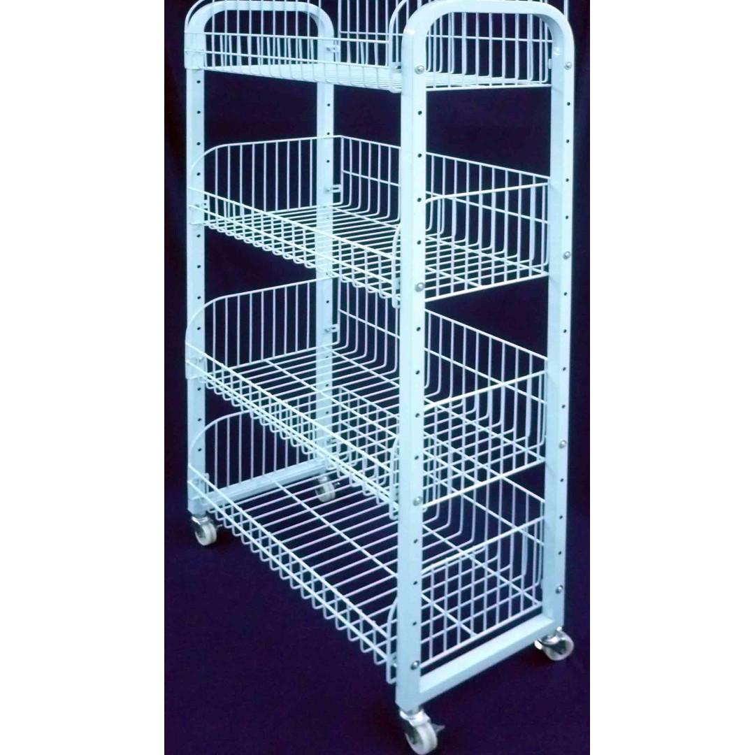 BNIB Super Heavy Duty Basket Rack