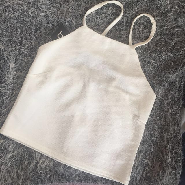 Boohoo Square Cropped Top