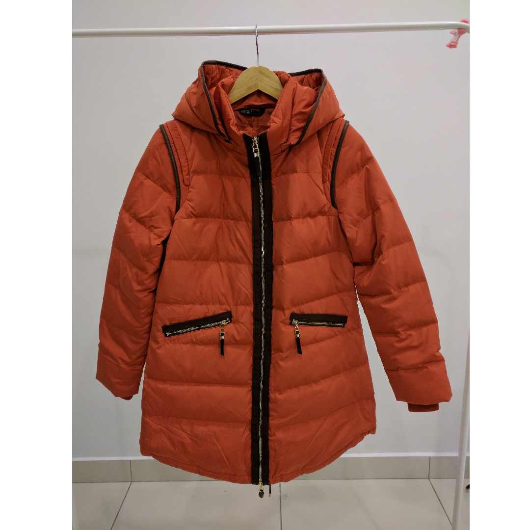 Bosideng Orange Winter Down Jacket