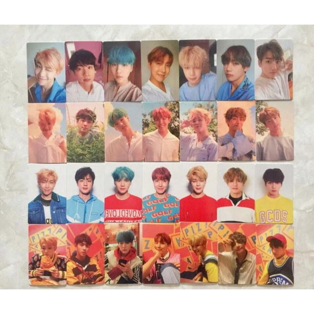 BTS DNA Duplicate Photocard