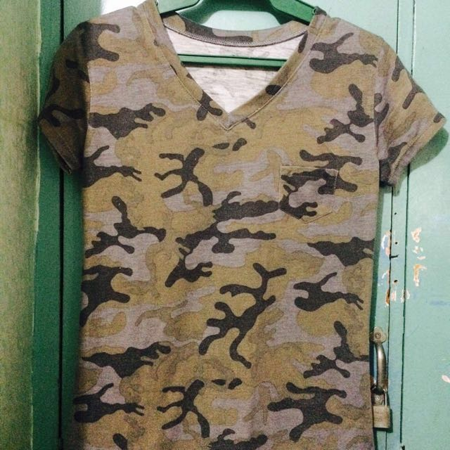 Camouflage Top 🤗
